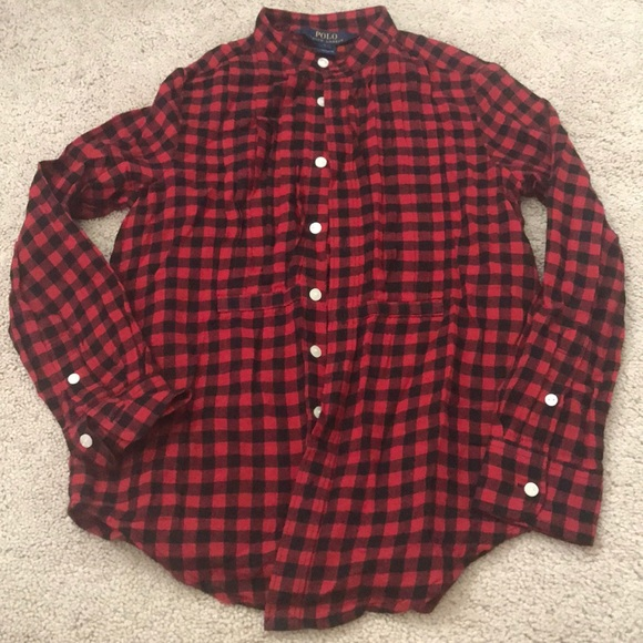 493da095 Polo by Ralph Lauren Shirts & Tops | Polo Ralph Lauren Buffalo Plaid ...